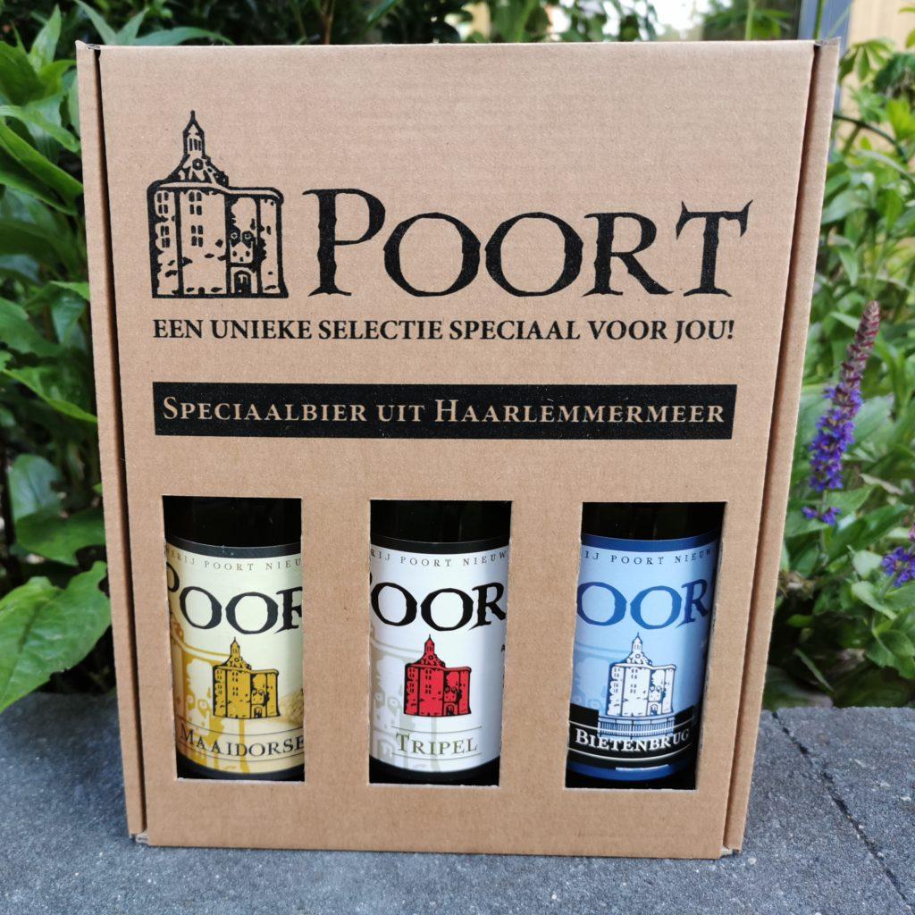 cadeauverpakking Poort, 3 speciaalbieren