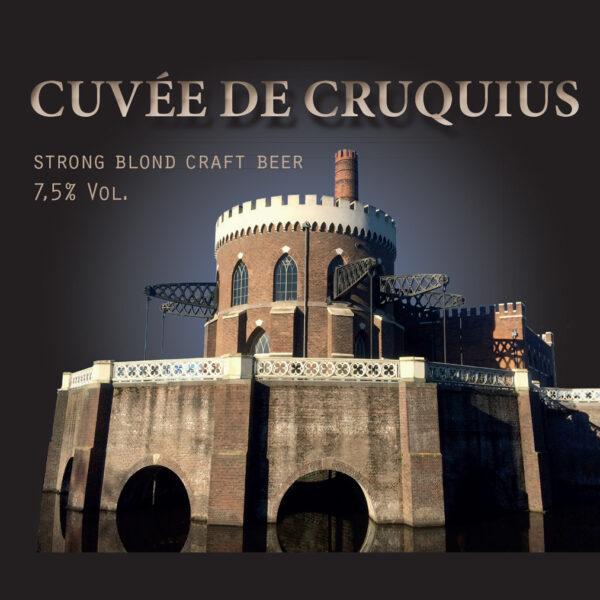 Cuvée de Cruquius etiket